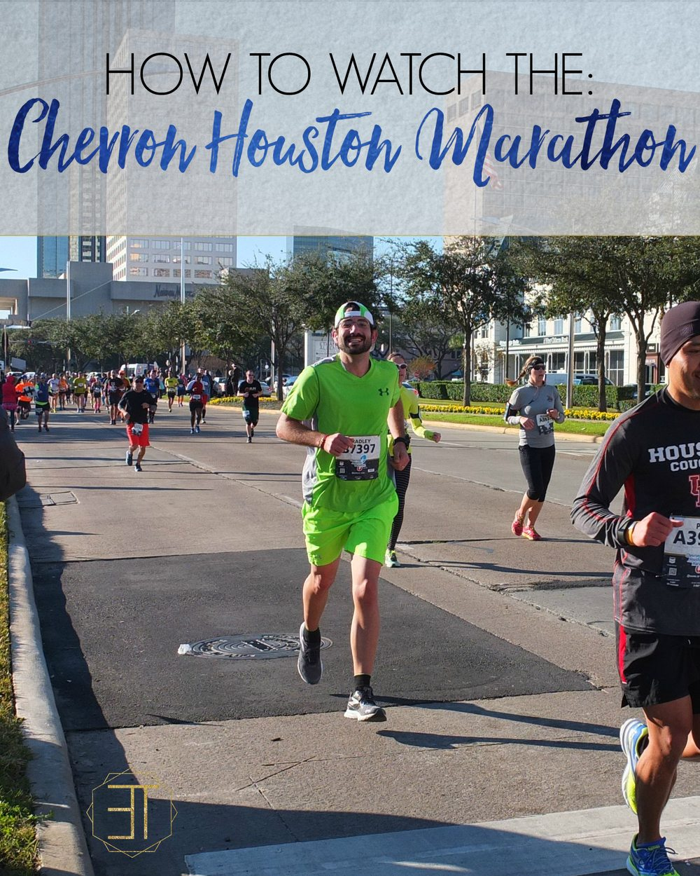 How to and where to watch the Chevron Houston Marathon.