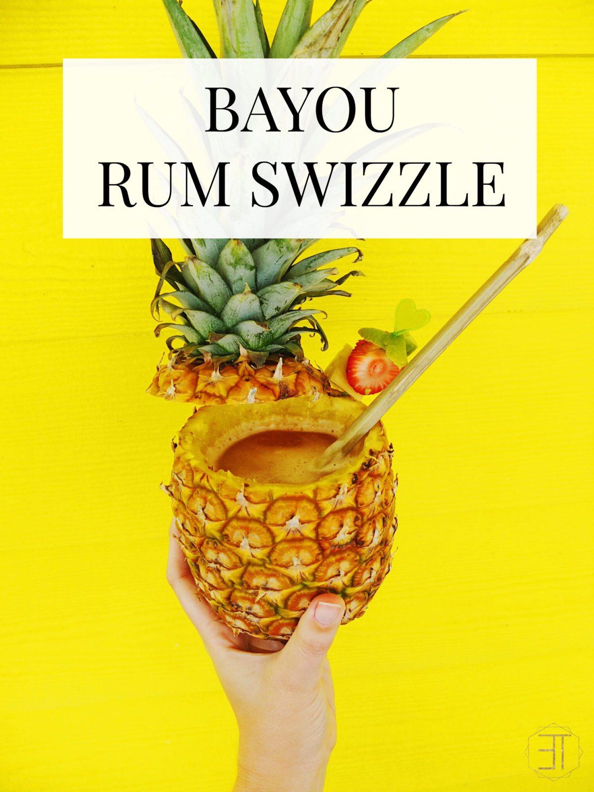 Bayou Rum Swizzle