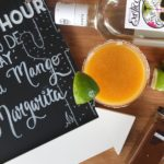 I'm sharing my recipe for a delicious Chili Mango Margarita just in time for a Cinco De Mayo party. Plus I'm teaching you how to make frozen margaritas without a blender! It's the easiest way to make margaritas. // www.ElleTalk.com