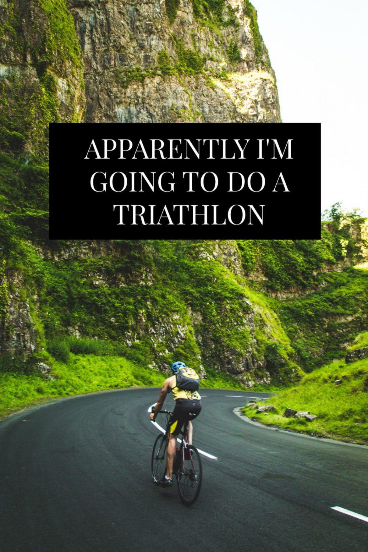 I signed up for my first Triathlon as a goal to beat fear in my 27th year. Triathlon stories. // www.ElleTalk.com