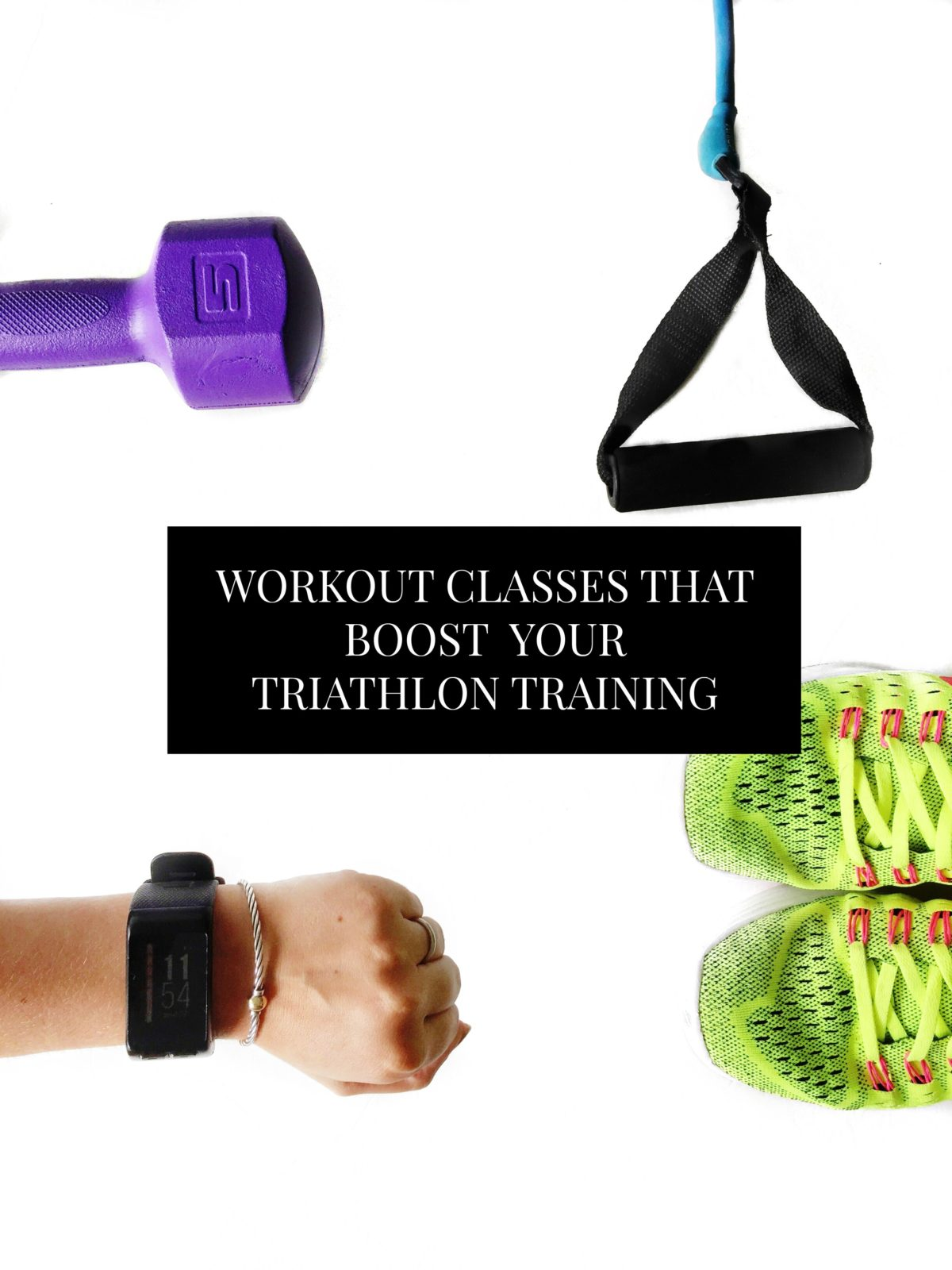 Workout classes to take to boost your triathlon training. Each of these classes pairs differently to match endurance, strength, mentality, or flexibility. // www.ElleTalk.com
