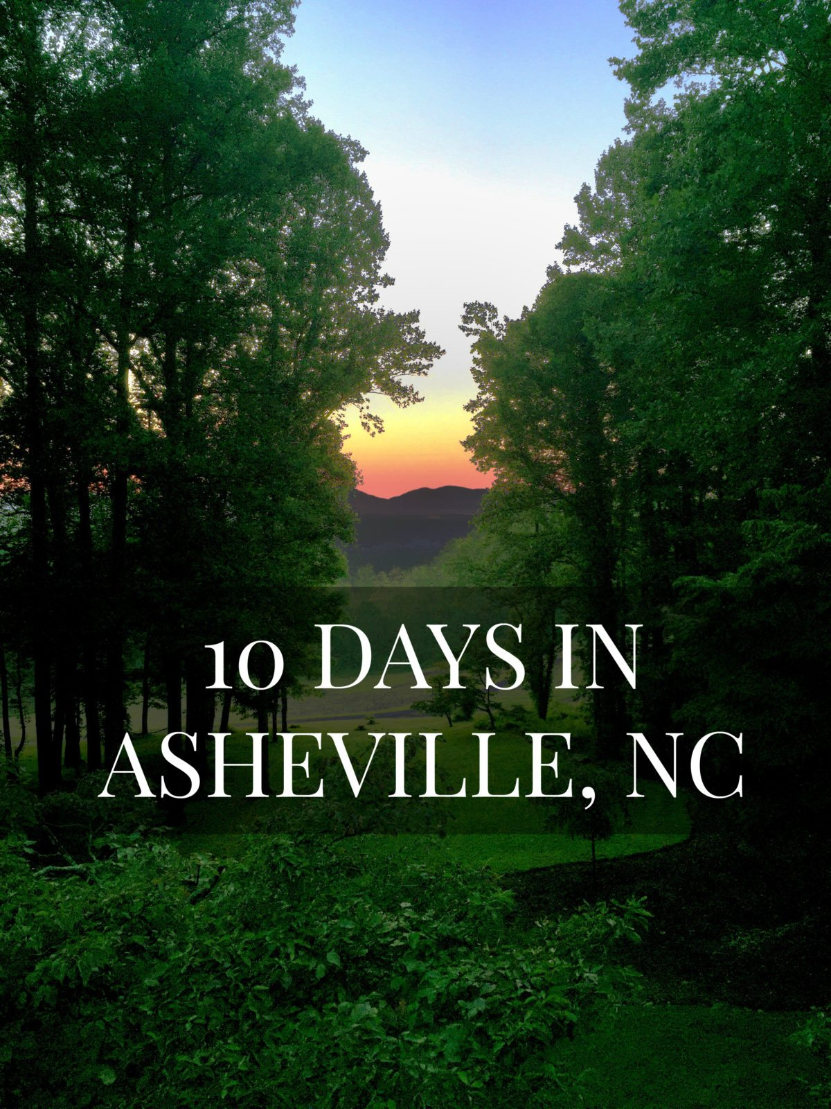 I share a quick recap of our 10 days in Asheville, North Carolina where we visited New Belgium Brewery, Green Man Brewery, hike Dupont Forrest, tried Wicked Weed Brewery and ate at French Broad Chocolate. // www.elletalk.com