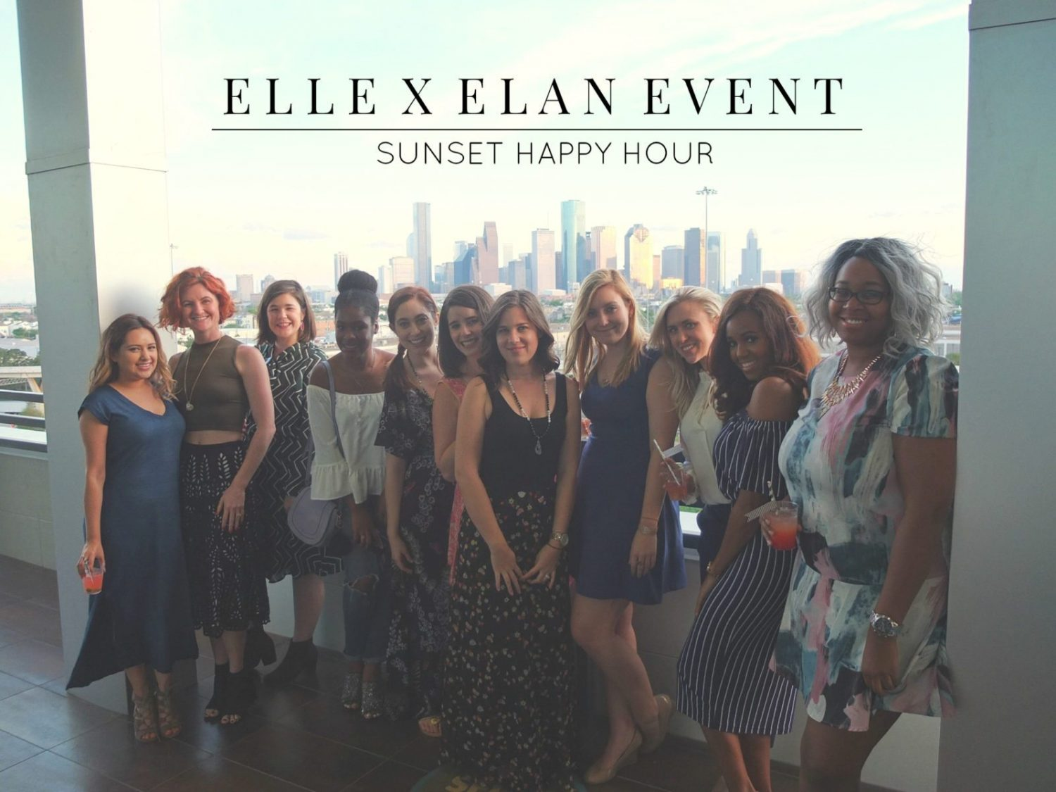 Recapping my time at the Elan Heights Apartments where I hosted a blogger sunset happy hour. Featuring Blooms Design Studio, Harold