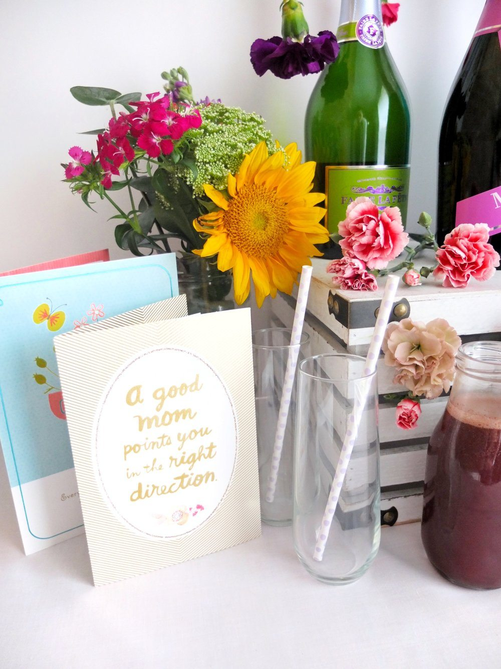 A DIY Mimosa Bar for Mother