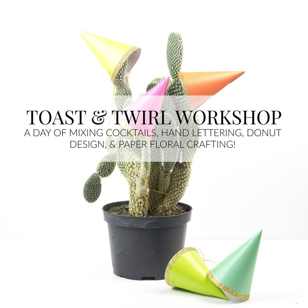 A look at the Toast & Twirl Workshop where I