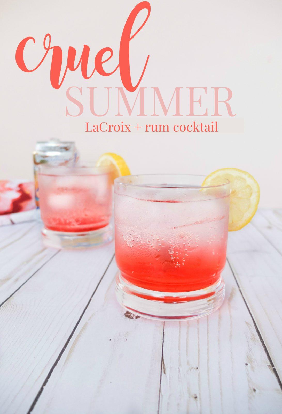Cruel Summer Cocktail Elle Talk