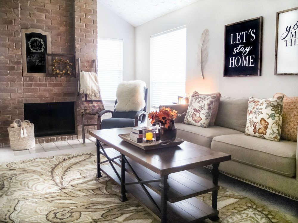5 Tips For Decorating A Cozy Fall Living Room To Refresh Your Living Room  For Fall