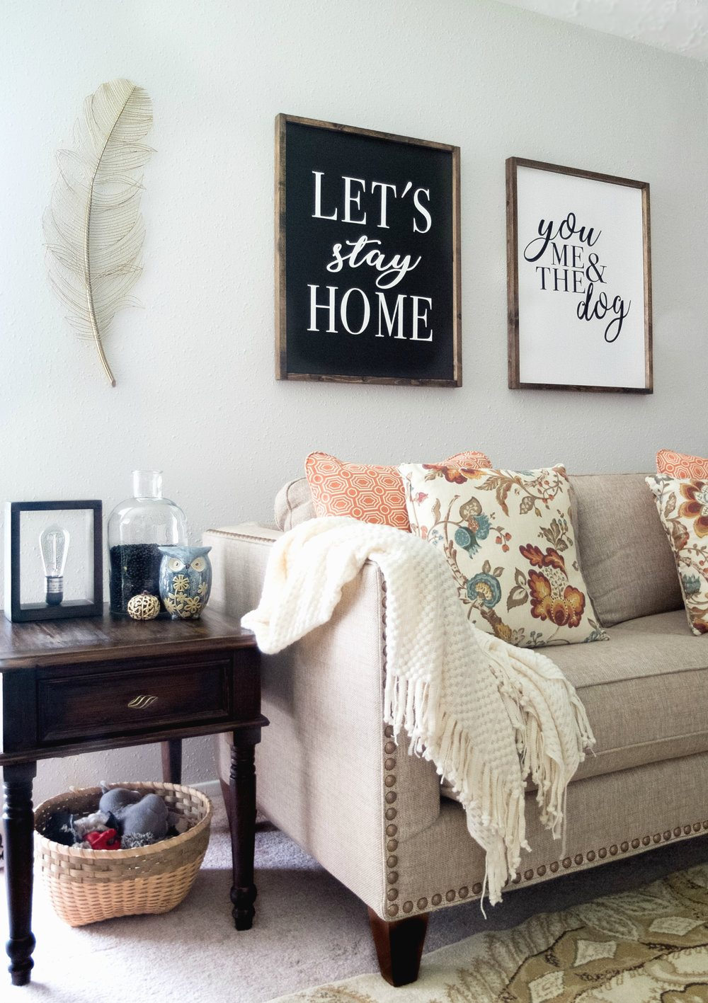 5 Tips For A Cozy Fall Living Room | Elle Talk