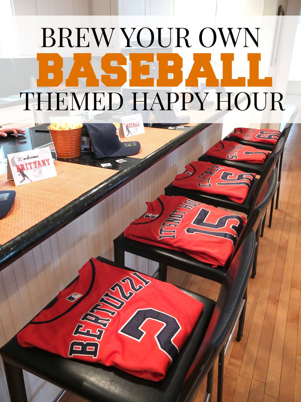 How to throw your own baseball and beer themed happy hour for your next baseball get together. This post is in collaboration with Circa Real Estate Houston.