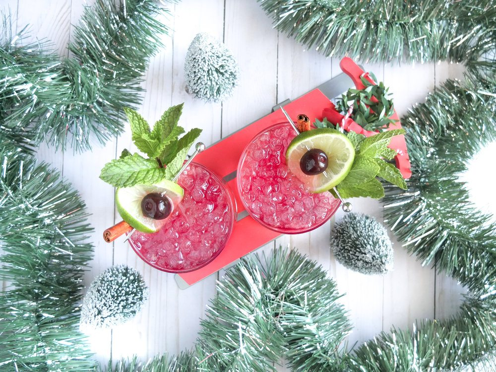 A holiday port cocktail recipe using Fonseca BIN 27 Port, dark rum, and white rum to create a delicious Christmas grog drink. Grog cocktail can be served hot or cold! #sponsored #PortCocktails @PortCocktails @FonsecaPort #Port #CocktailRecipe #Cocktail #HappyHour #DrinkRecipe #HolidayRecipe #RumCocktail #GrogCocktail