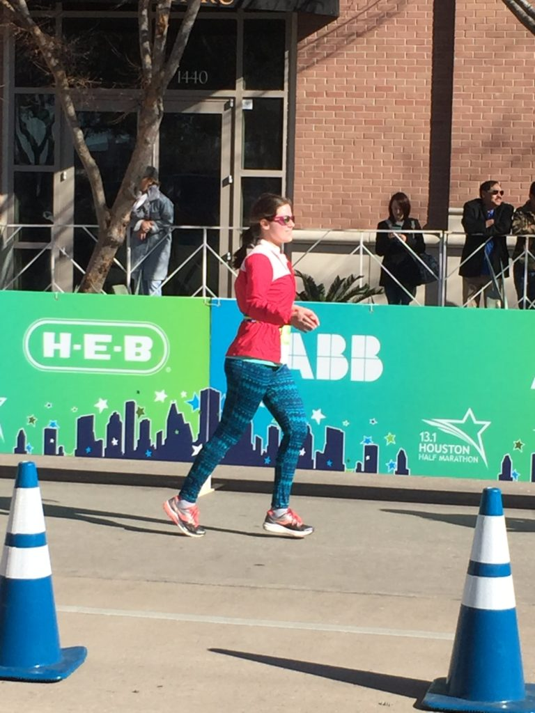 Elle Talk's Houston Aramco Half Marathon 2018