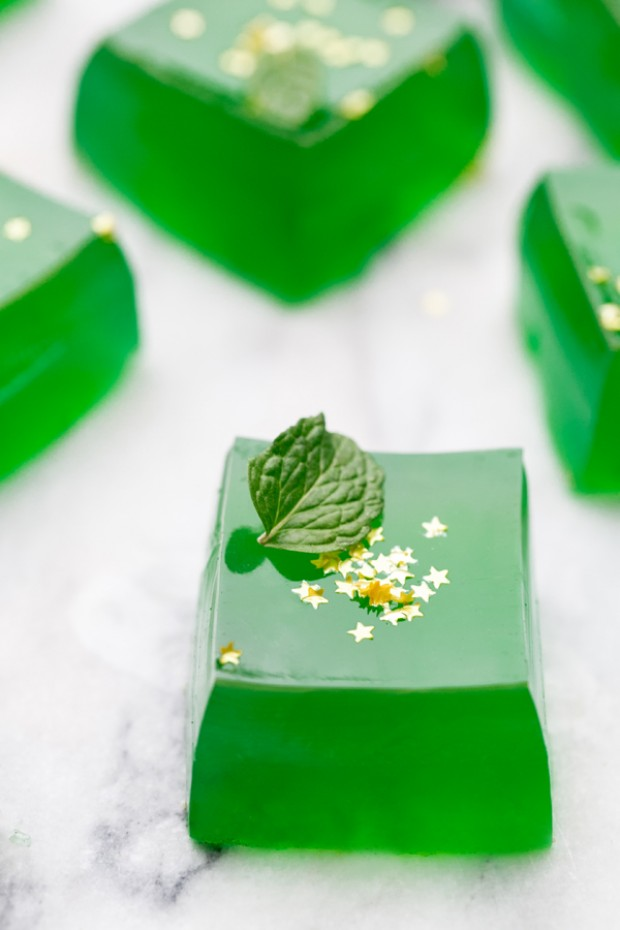 10 of the Best St. Patrick's Day Recipes - Jameson Jello Shots by Sugar and Charm