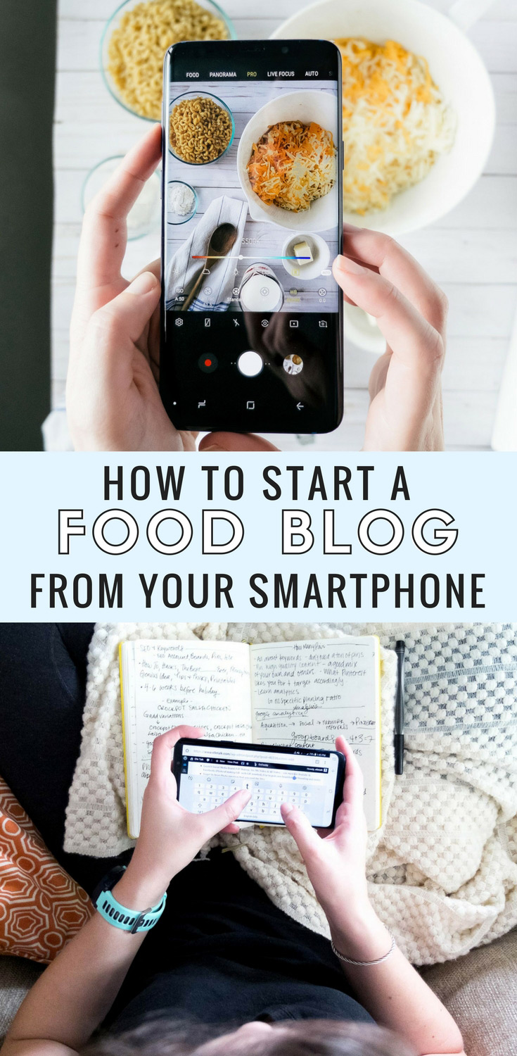 How to start a food blog from your smartphone with Samsung Galaxy S9+ & Target. I show you how you can run, mange, and begin your food blog from your phone in this easy how to. The first step, JUST START! #SamsungTargetTech #ad #howto #blogging