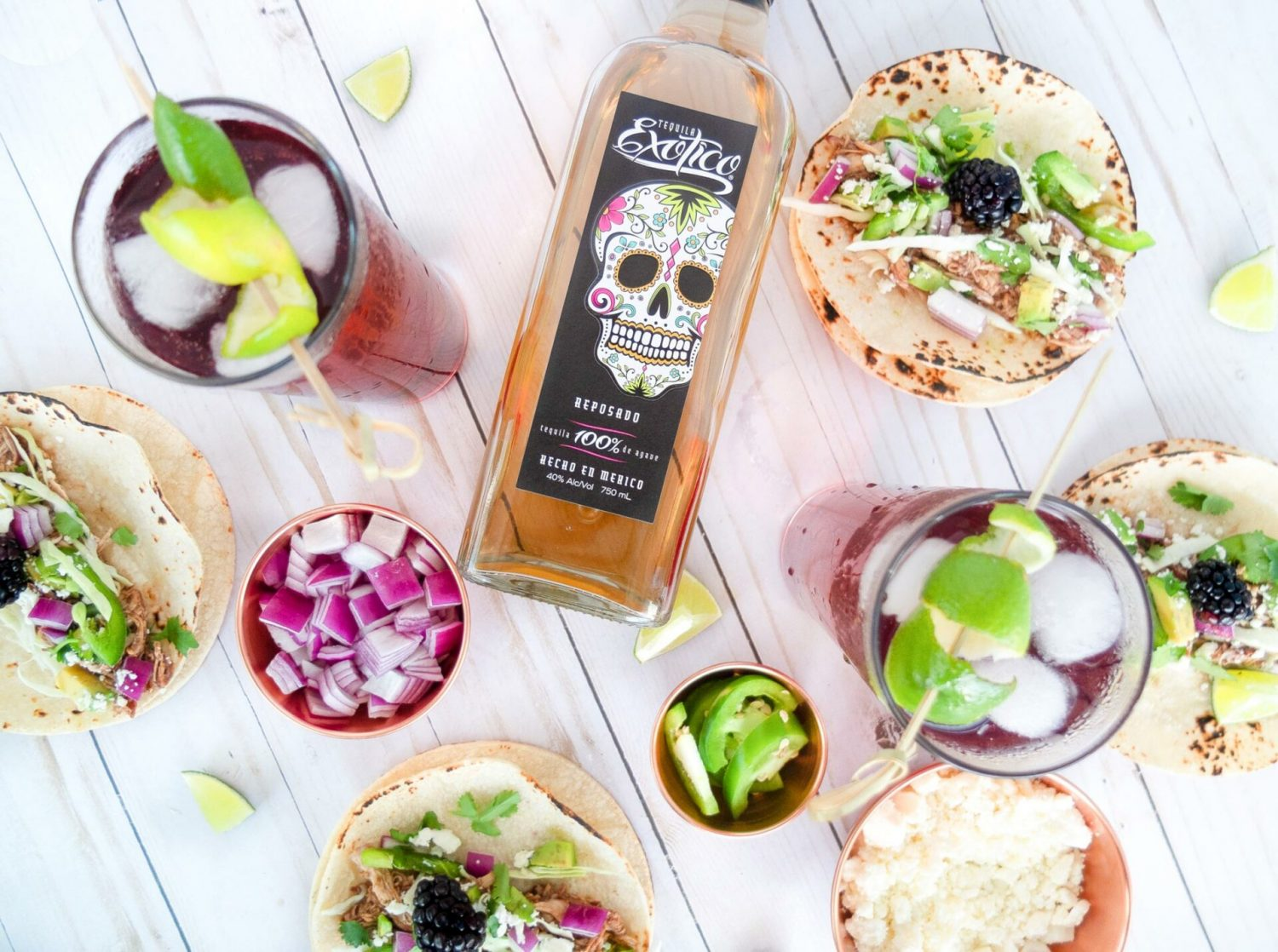 We're pairing the classic tequila cocktail El Diablo with theseThis classic tequila cocktail El Diablo paired with slow cooker Blackberry & Ginger Tacos. The El Diablo cocktail is a black current and ginger beer drink that's easy to sip. Have it along side these chicken tacos made in a blackberry and ginger sauce makes for a little spicy, sweet, and salty. Recipe for those 21+. #slowcooker #recipeoftheday #tequila #cocktail #cocktailrecipe #foodpairing #dinner #dinnerrecipe #tacotuesday #tacoparty #makeitexotico #adslow cooker Blackberry & Ginger Tacos. The El Diablo cocktail is a black current and ginger beer drink that's easy to sip. Have it along side these chicken tacos made in a blackberry and ginger sauce makes for the ultimate pairing of a little spicy, sweet, and salty. Recipe for those 21+. #slowcooker #recipeoftheday #tequila #cocktail #cocktailrecipe #foodpairing #dinner #dinnerrecipe #taco #tacotuesday #tacoparty #makeitexotico #sponsored