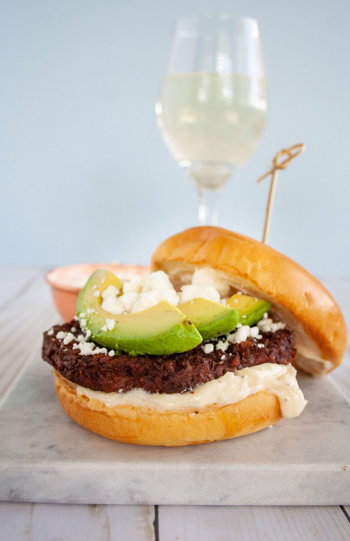 Msg 21+ Wether you're looking for Meatless Monday recipes or for a fun way to entertain these grilled meatless Burger and Wine Pairings are sure to be a satisfying hit. With recipes for pairing wine to a Mushroom Swiss Burger, Avocado Burger, and a Greek Burger. #ad #MorningStarFarms #MakeRoomOnYourGrill #GrillingRecipe #Burgers #Summerrecipes #Winepairing #winenight #meatlessmonday #meatlessrecipes