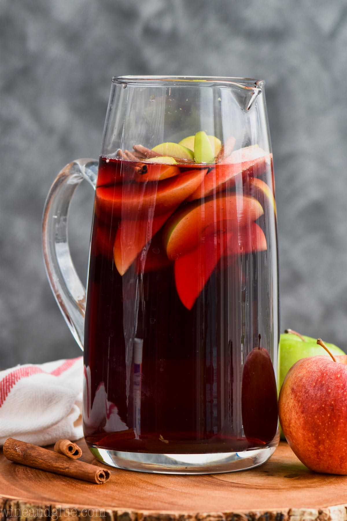 Cinnamon Whiskey Sangria by Wine and Glue