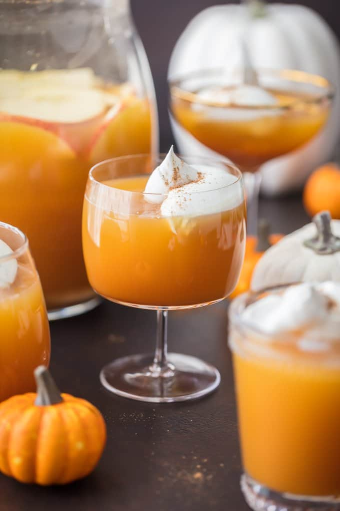 Pumpkin Pie Punch by The Cookie Rookie