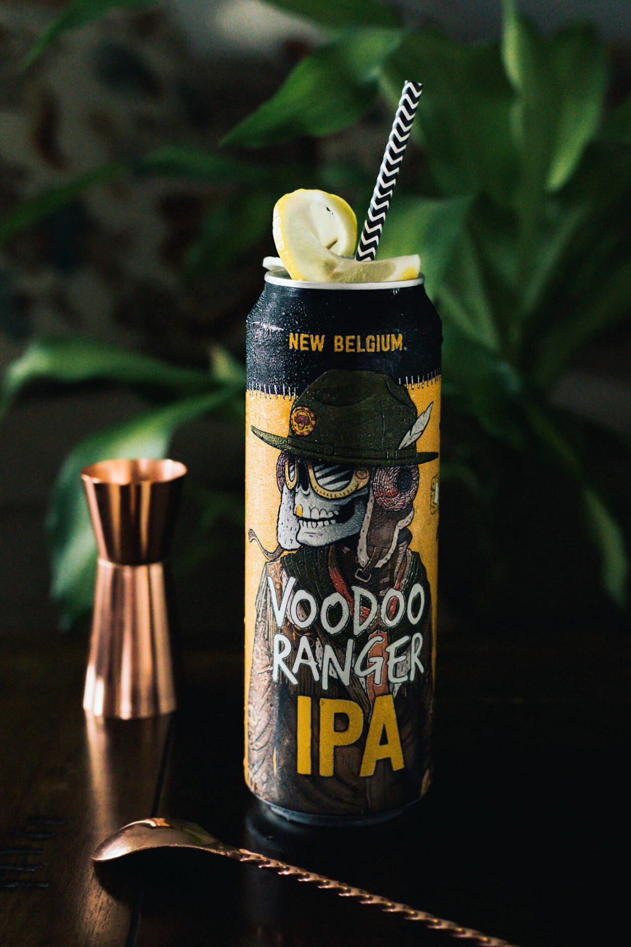 A mezcal and beer cocktail mixed up with passion fruit syrup for a tropical swing on a mosaic hops IPA cocktail. This IPA beer cocktail is perfect for summer sipping. #ElleTalk #Beer #Mezcal #BeerCocktail #MezcalCocktail #CocktailRecipe #DrinkRecipe