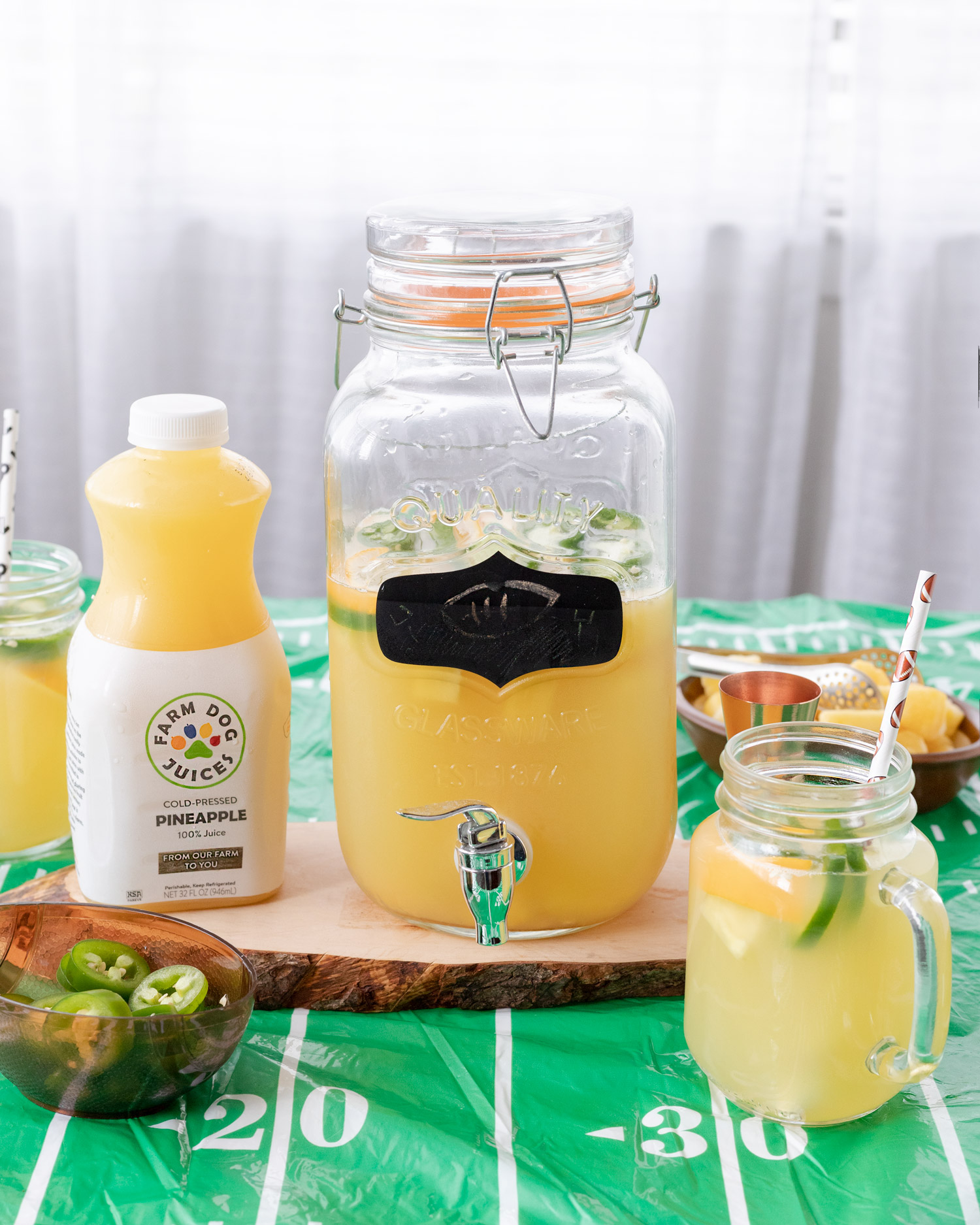 Jalapeno Pineapple Lemonade Punch Elle Talk,Tiny House Trailers